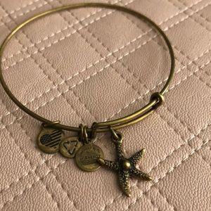 Alex & Ani starfish bracelet